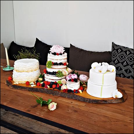 trio taart