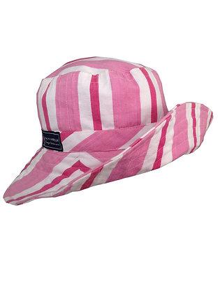 Pink Coral Wide Brim Hat
