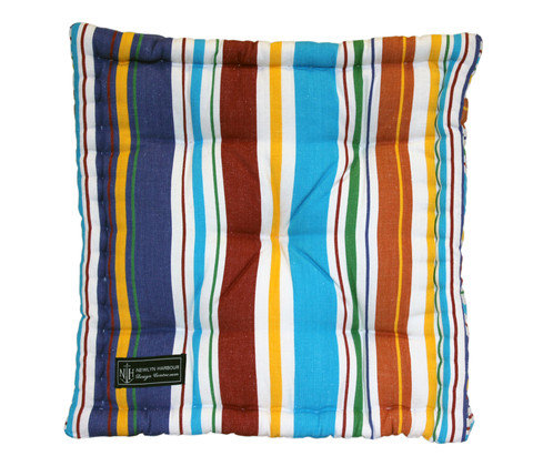 Beach Hut Box Cushion