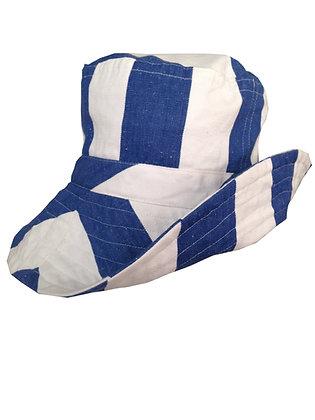 Blue Sea Wide Brim Hat