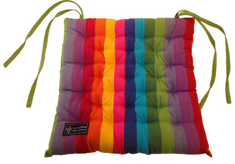 Rainbow Seat Cushion