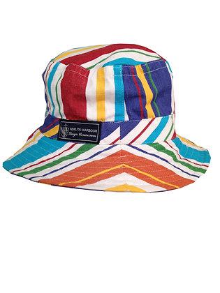 Beach Hut Small Brim Hat