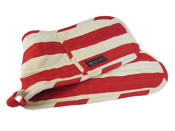 Red Flag Oven Glove