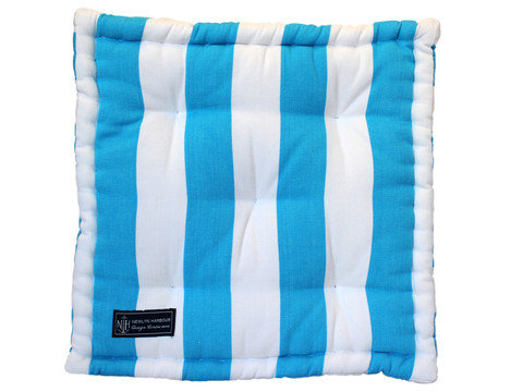 Azure Ocean Box Cushion