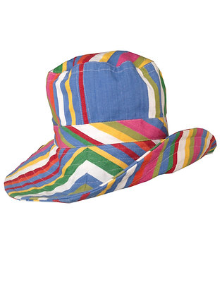 Big Blue Wide Brim Hat
