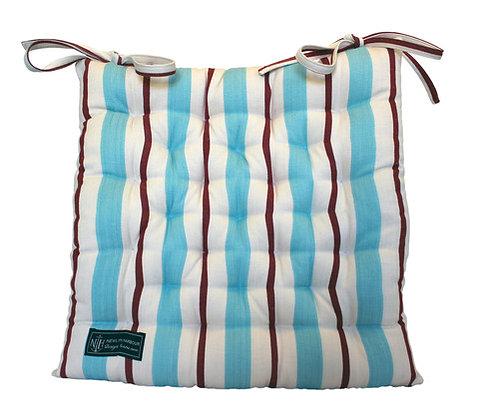 Blue Sandy Seat Cushion