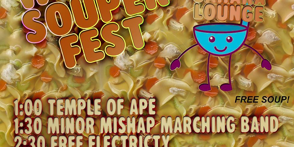 Winter Souper Fest at Sahara Lounge!