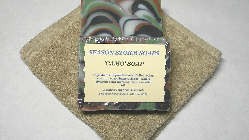 Camo Soap