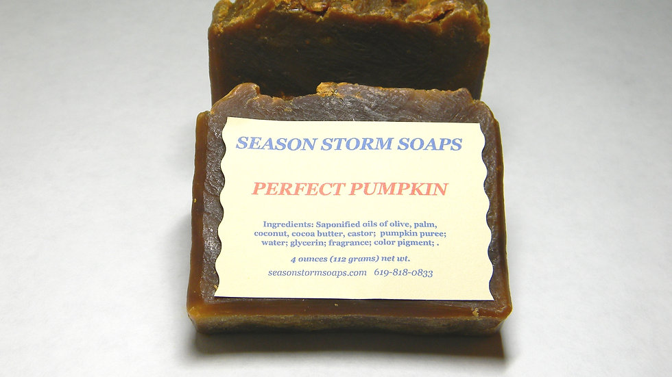 Perfect Pumpkin Soap