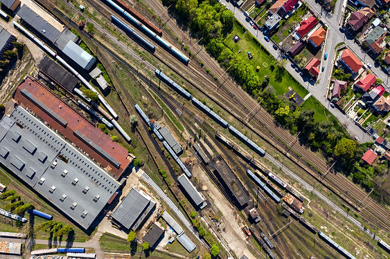 aerial-drone-view-of-old-locomotive-trai