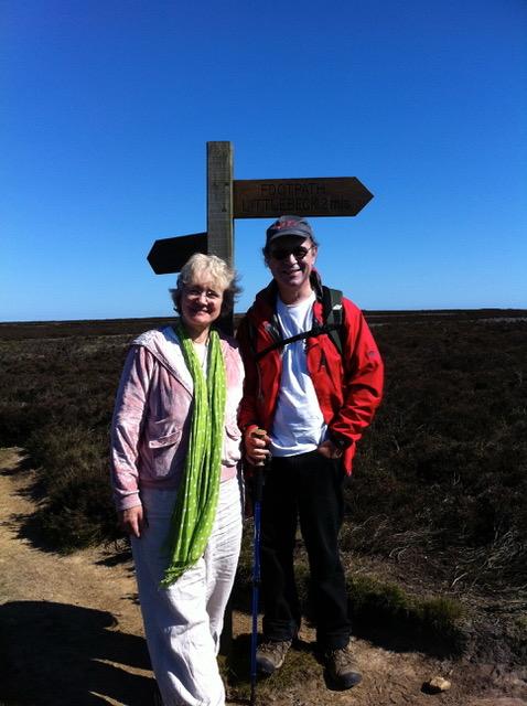 Frank and Betsy Wainwright Walk 2011