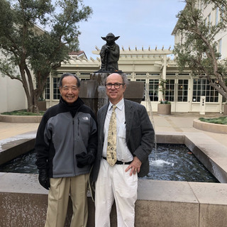 Frank with Prof. T. D. Lee