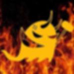 Logo del Ball de Diables entre flames