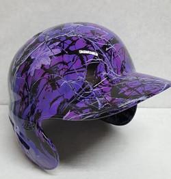 Hydrographic Batting Helmet