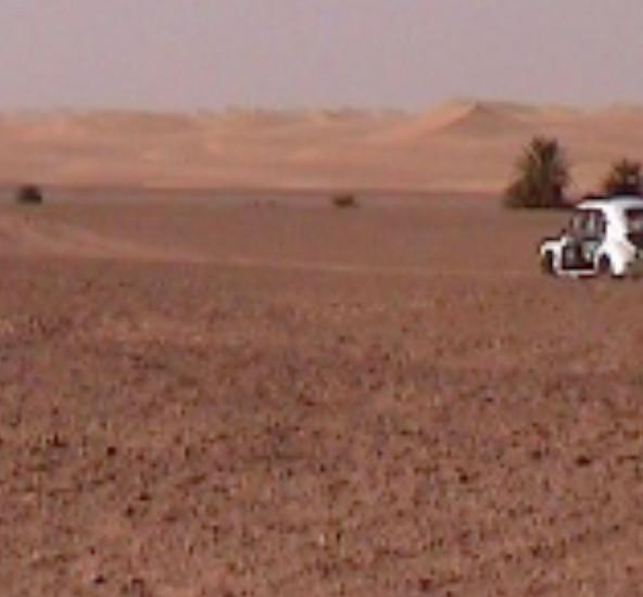 4 CV dans le Sahara