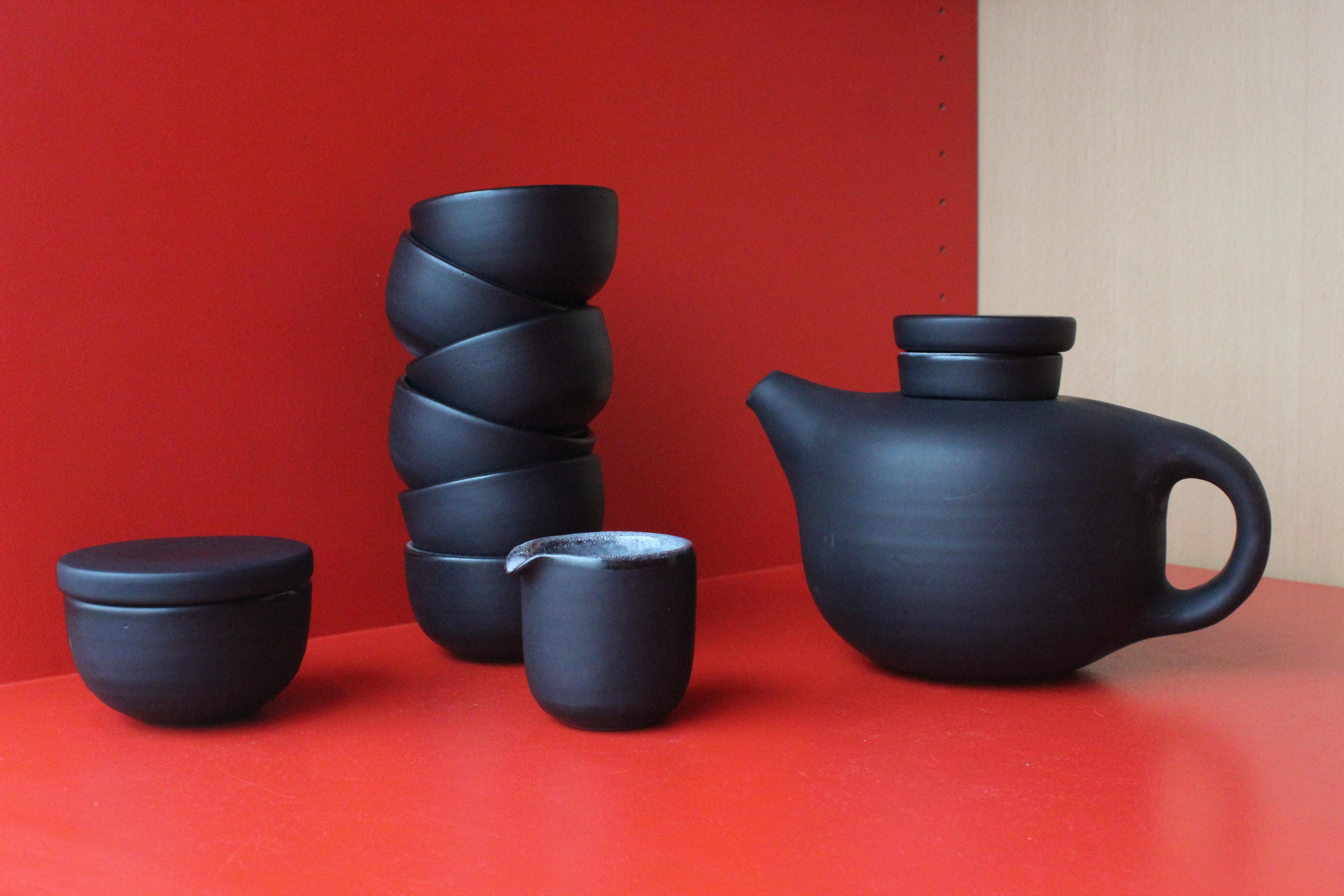 Service à thé / Antonio Lampecco