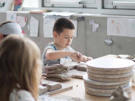 Porcelaine et Traditions chinoises, stage pour enfants de 6 à 12 ans à Keramis