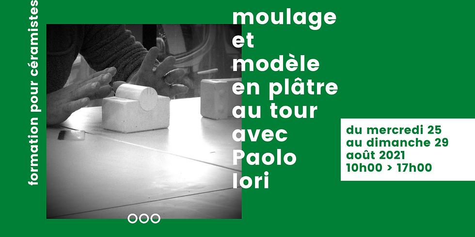 MOULAGE ET MODÈLE EN PLÂTRE AU TOUR AVEC PAOLO IORI
