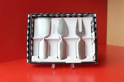 Set 3 pièces à fromage / Serafino Zani