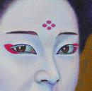 peinture-huile-kabuki-femme-maquillage