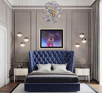 peinture-a-l-huile-emmanuel-beyens-interieur-decorateur-chien-bleu