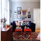 peinture-huile-chihuahua-bleu-décoration-salon