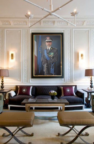 portrait-peinture-huile-général-guardia-di-finanza