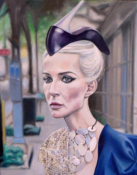 Portrait - Urban & fashion - painting
