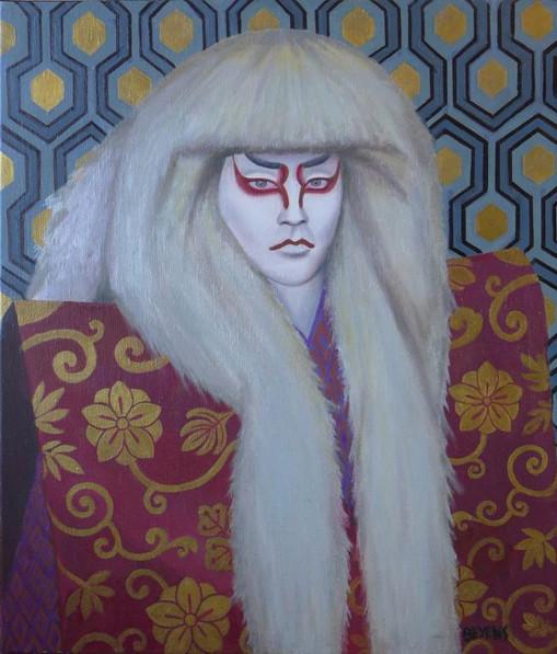 kabuki-théâtre-japon-bandit-démon-cheveux-blancs