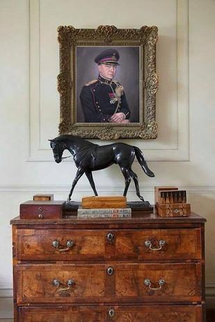 portrait-peinture-huile-colonel-belge