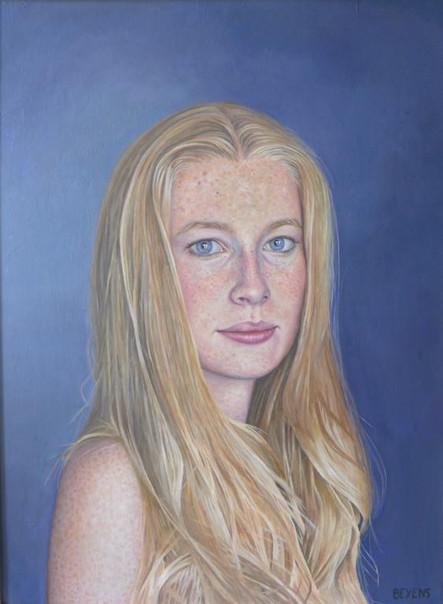 portrait-peinture-huile-blonde-emmanuel-
