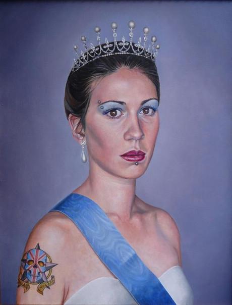 portrait-peinture-huile-brune-diadème-pr