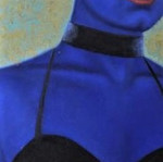 peinture-à-l-huile-drag-queen-bleu