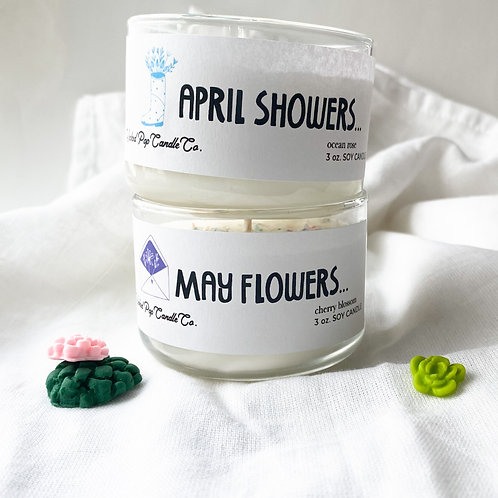 April Showers/May Flowers - Spring Collection