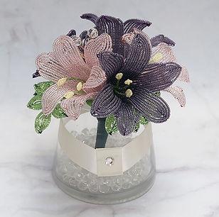 Duethandmade_Lily Flower Arrangement_01.