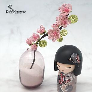 Duet Handmade_HK_French Beaded Cherry Bl