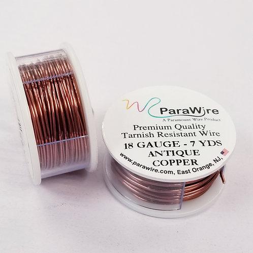 Antique Copper Color, Non-Tarnish Copper Wire (16g/18g/20g/26g/28g)
