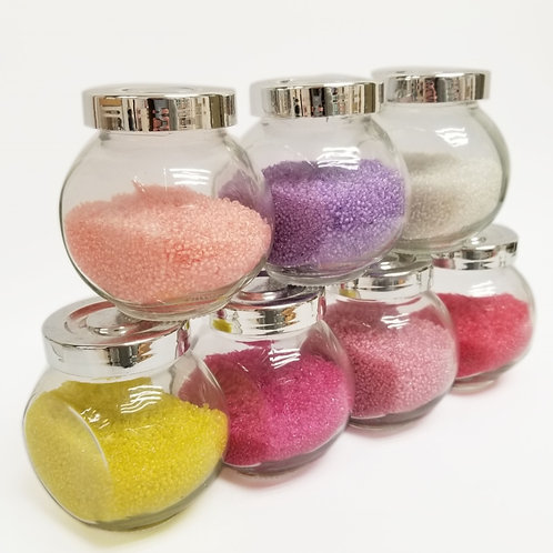 Japanese Glass Seed Beads - Inside Colors