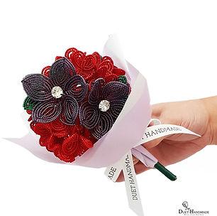 Duet Handmade_French Beaded Flower Valen