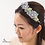 Thumbnail: French Beaded Garden Flower Hair Band