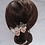 Thumbnail: French Beaded Flower Hair Comb