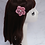 Thumbnail: French Beaded Flower Hairpin