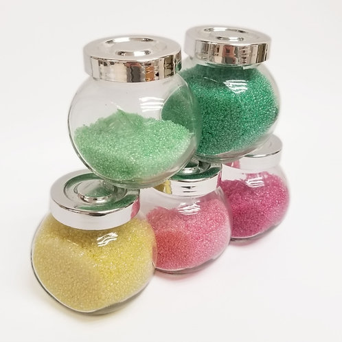 Japanese Glass Seed Beads - Inside Colors Lustered