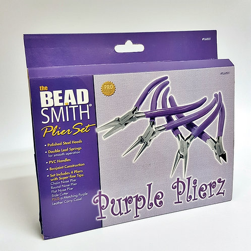 Purple Plier Set (4 Tools)