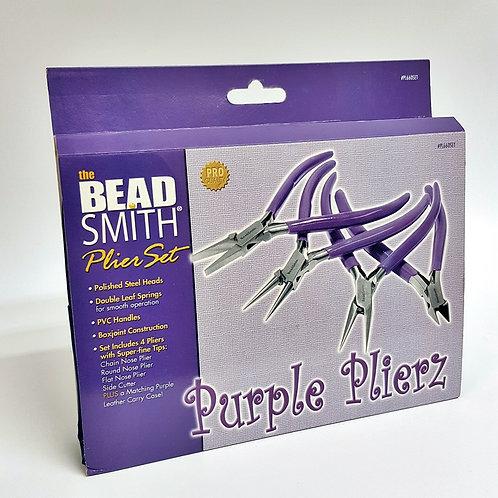 Purple Plier Set (4 Tools)