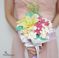 French Beaded Flower Bouquet