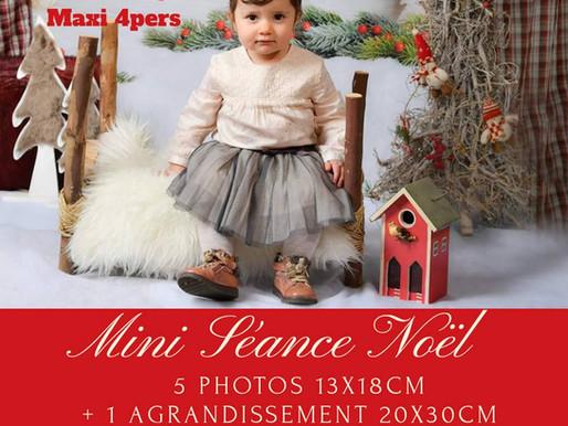 Ouverture des réservations des Minis Séance Noël 2018 🌲🌟