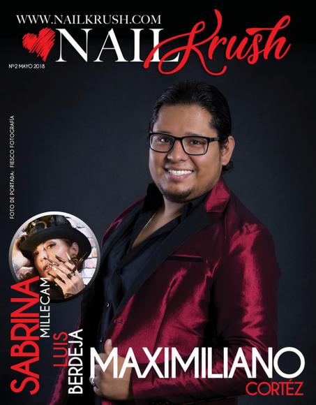 Couverture Magazine Nail Krush Mai 2018