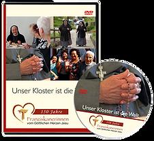DVD zum Film - Unser Kloster ist die Welt