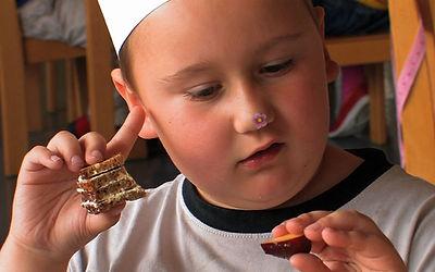 Reportagen - gesunde Ernährung für Kinder im Kindergarten